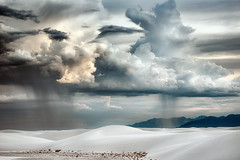 Monsoon Season (Appalachian Hiker) Tags: monsoon clouds thunderstorm rain cell storm desert whitesands newmexico