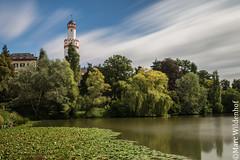 Schlosspark Bad Homburg - Hessen - Germany (Marc Wildenhof) Tags: langzeitbelichtung spiegelung reflections wasser wolken schlossparkbadhomburg badhomburg hessen taunus germany canoneos6d