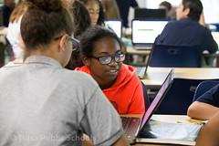 6D-7271.jpg (Tulsa Public Schools) Tags: clinton middleschool ok oklahoma tps tulsa tulsapublicschools classroom computer people school student students technology unitedstates usa
