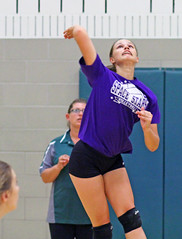 IMG_6468 (SJH Foto) Tags: girls volleyball high school scrimmage northstar boswell pa pennsylvania action shot
