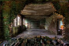Another Brick in the Wall (endsilence) Tags: brick wall dust silence abandoned lost barracks soviet airport gdr