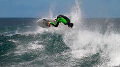 Surfing The Passage (blachswan) Tags: portfairy victoria australia ocean southernocean thepassage surf surfer surfboard surfing waves