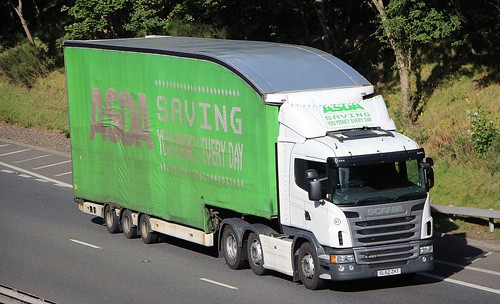 SCANIA G420 - ASDA Supermarket