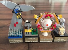 Bricks by the Bay Trophies (graznador) Tags: lego toy graznador graznador2 moc award trophy bricksbythebay legocon bbtb winner npu