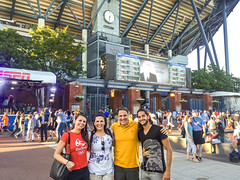 US-Open-2016-4 (fabergtourexperience) Tags: usopen tennis new york usa arthur ashe stadium stanislaswawrinka stan wawrinka novakdjokovic djokovic experience sporting events sunset sunny day
