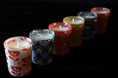Della serie...siamo serie! (encantadissima) Tags: macromondays inarow candele serie colori
