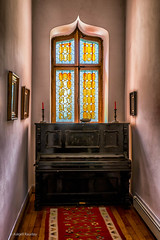 Iulia's Castle -The Piano. (Askjell's Photo - @work - very slow internet) Tags: bogdanpetriceicuhasdeu castle cmpina iuliahasdeu romania spiritism spooky ghost ghostly hounted mystic mysticism