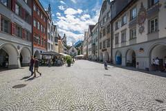Feldkirch, romantische Altstadt mit Laubengngen (thunderbird-72) Tags: austria vorarlberg stadt altstadt sterreich gebude feldkirch at