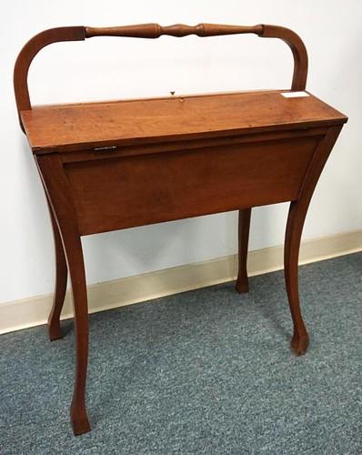 Walnut Sewing Stand ($280.00)