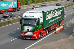 Eddie Stobart 'Jean Marie' (stavioni) Tags: esl eddie stobart truck trailer lorry m4 mercedes benz actros f1 formula one 1 jean marie gn14wlj h3339