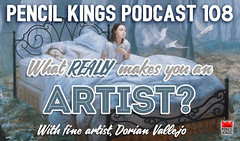 Fun new Podcast with Pencil Kings.com... (Dorian Vallejo) Tags: art fine drawing figure mixed media drawings oil painting dorian vallejo