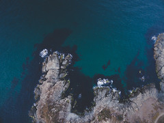 On the Rocks (barisakpinar) Tags: phantom3 rocks sea ocean water nature birdseyeview drone uav dji djiphantom3 demirciky istanbul turkey tr