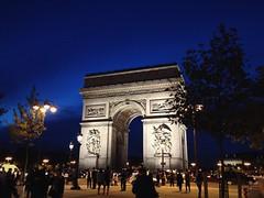 L'Arc de Triomphe de l'toile (jgarber) Tags: night arcdetriomphe