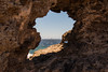 En el punto de mira (stereocallo) Tags: hueco mira mirador target objetivo diana grancanaria arinaga