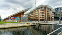 Oslo, Norway: Astrup Fearnley Museet (nabobswims) Tags: architecture astrupfearnleymuseet hdr highdynamicrange lightroom museum no nabob nabobswims norway oslo photomatix sonya6000