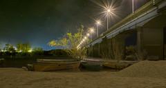 Puente del Rio Olimar (enriquemartinezok) Tags: larga exposicion lente de kit 18mm f8 nikon d5300 foto nocturna