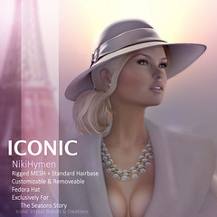 ICONIC NikiHymen (Neveah Niu /The ICONIC Owner) Tags: iconic iconichair the seasons story 3dart 3dmesh