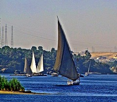 EGYPT (PHOTOPHANATIC1) Tags: egypt aswan river nile felucca