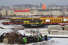 20130122 038 Schaerbeek. Engineers Sidings Host Shunter 8234 (15038) Tags: belgium diesel trains locomotive railways schaerbeek nmbs sncb 8234 class82 srie82 reeks82