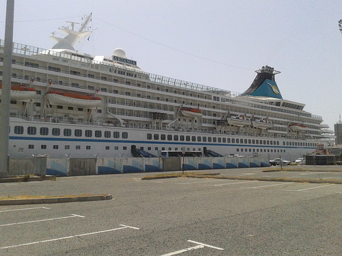 MV Artania cruise ship - at Limassol Port