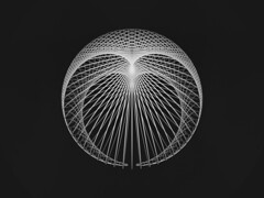 Cardioid Ball (fdecomite) Tags: circle math povray cardioid