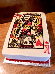 king of heart (SweetTreets) Tags: weddingcake groomscake