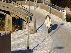 Home from the school (Vidar Ringstad,Skedsmo) Tags: trees winter shadow sun snow cold sol nature girl sunshine norway barn canon walking eos norge frozen vinter kid google europa europe frost image boots streetlamp walk natur longhair norwegen images 7d holt busker moment scandinavia bushes jente sn gangbro trr solskinn skygge gr skandinavia flicr kaldt stvler gatelys fortau g frossen skedsmo yeblikk skedsmokorset langthr holtvestvollen vidarringstad momentpic yeblikksbide