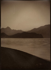 (NooFZz) Tags: sea bw landscape 9x12 photographicpaper paperpositive bulldog4x5
