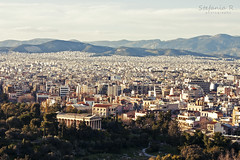 Athens (Stefania Regano) Tags: city temple cityscape athens greece grecia atene