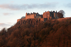 Stirling Castle sunset (iancowe) Tags: sunset castle robert james evening scotland stirling bruce scottish historic kings stewart defensive fortress iv crag