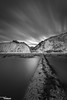 Pipe Edge (Dave Brightwell) Tags: longexposure england bw 6 beach clouds coast pipe cliffs stop northeast hitech eastcoast countydurham easington bwnd davebrightwell