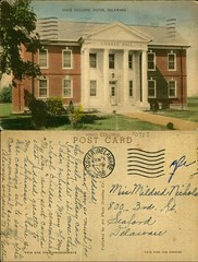 State College, Dover, Delaware (Delaware Public Archives) Tags: school building college campus education learning environment agriculture administrative