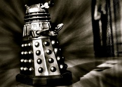 115/365 (denny57uk) Tags: blackandwhite bw drwho dalek 365 exterminate project365