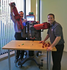 We Welcome Our Humanoid Robot (jurvetson) Tags: out robot day box sale first programming installation baxter robotics dfj humanoid rethink of hugyerbot robotdawn
