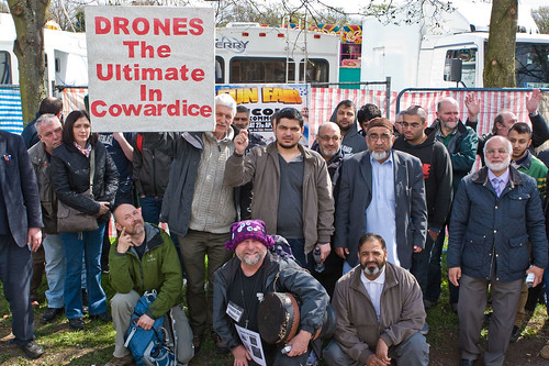 RAF Waddington Drone Demo (Apr 2013)  002