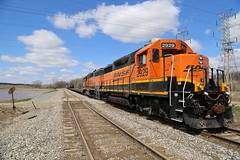 Treading Water (JayLev) Tags: flood edwards washout bnsf peoria pottstown geep galesburg