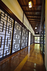 Japanese Style Room (afternoon_dillight) Tags: windows house home museum architecture japanese hall style province woodfloor governorsresidence cheongju