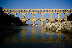 pont du gard (Karsten Hansen) Tags: bridge france frankreich roman aqueduct provence pontdugard pentaxk10d aquedukt karstenhansen pentaxart