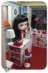 Playscale miniature shop diorama 02
