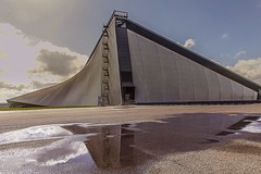 Cold War Hangar (Steven J Gibbs) Tags: rememberthatmomentlevel4 rememberthatmomentlevel1 rememberthatmomentlevel2 rememberthatmomentlevel3 rememberthatmomentlevel7 rememberthatmomentlevel5 rememberthatmomentlevel6 rememberthatmomentlevel8