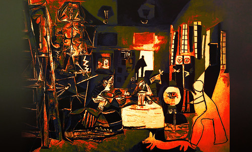 """Meninas, iconósfera de Diego Velazquez (1656), estudio de Francisco de Goya y Lucientes (1778), paráfrasis y versiones Pablo Picasso (1957). • <a style=""""font-size:0.8em;"""" href=""""http://www.flickr.com/photos/30735181@N00/8747976710/"""" target=""""_blank"""">View on Flickr</a>"""