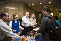 Hot Dog Study Break_051213_0016 (Luther College _ Photo Bureau) Tags: dog hot college zach spring student break towers miller study finals week zachary professor professors volunteer faculty semester luther volunteerism 2013 dieseth stottler 20122013