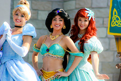 Cinderella, Jasmine, Ariel (abelle2) Tags: ariel princess jasmine disney disneyworld cinderella mermaid wdw aladdin waltdisneyworld magickingdom littlemermaid coronation princessjasmine disneyprincess thelittlemermaid princessariel princesscinderella meridacoronation