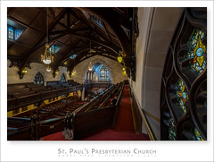 St. Paul's Presbyterian Church (Light Forger) Tags: christmas city wedding ontario canada money english tourism church public buildings photography nikon truth worship commerce christ god faith prayer religion gothic pipes hamilton ceremony landmarks stainedglass tourists holly spire adventure business explore event entertainment organ believe hymn gospel sanctuary presbyterian fellowship praise businesses pipeorgan revival gather acoustics doorsopen marrage uncover tallestspire casavant williamthomas hym casavantorgan hollyghost englishgothicrevival lightforger 70jamesstreetsouth stpaulspresbyterianchurch