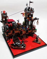 Port Wrath (Julius No) Tags: black port lego wrath falcons historica nocturnus