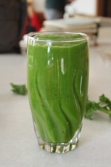 green smoothie (Stacy Spensley) Tags: green recipe avocado healthy smoothie kale spinach