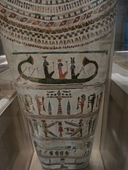 Top Registers, Unnamed Coffin (meechmunchie) Tags: coffin ancientegypt ptolemaic lateperiod cincinattiartmuseum sunbarque