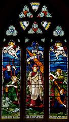 Mortehoe - East Window (David Cronin) Tags: holiday glass mary stainedglass stained devon powell marymagdalene magdalene mortehoe saintmarymagdalene jamespowellandsons sirhenryholiday