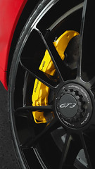 So much yes! (Vitor Rodrigues Photography) Tags: red black detail wheel yellow porsche finepix fujifilm brake 991 gt3 pccb caliper s4000 finex worldcars