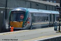 22012 at Connolly, 19/7/16 (hurricanemk1c) Tags: dublin irish train rail railway trains railways irishrail rok rotem 2016 icr connolly iarnrd 22000 22012 ireann iarnrdireann 4pce